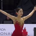本田真凛のフィギュアスケート・カナダ大会の模様