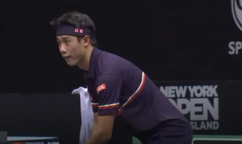 ニューヨークオープン1回戦の錦織圭