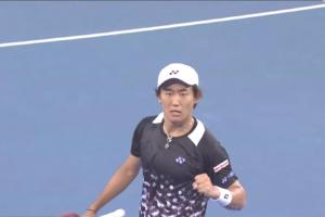 西岡良仁、深センオープン2018で初優勝