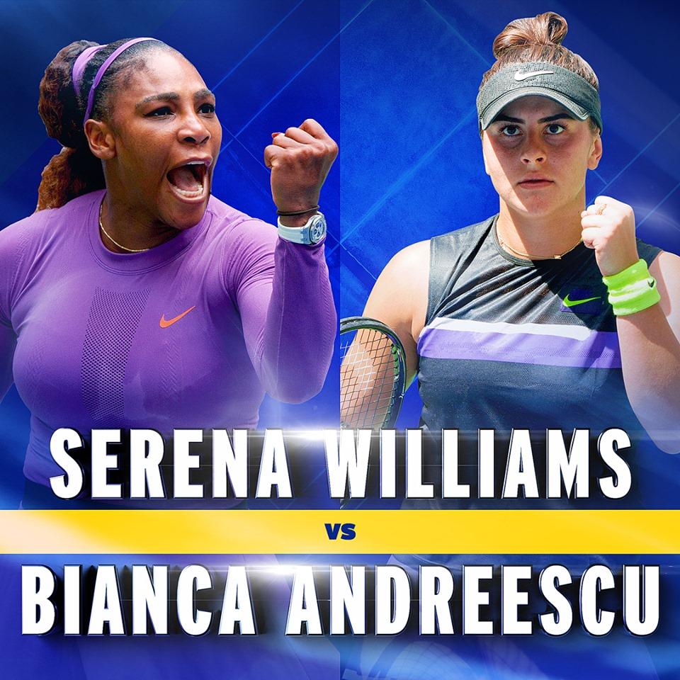 全米オープンテニス女子シングルス決勝戦