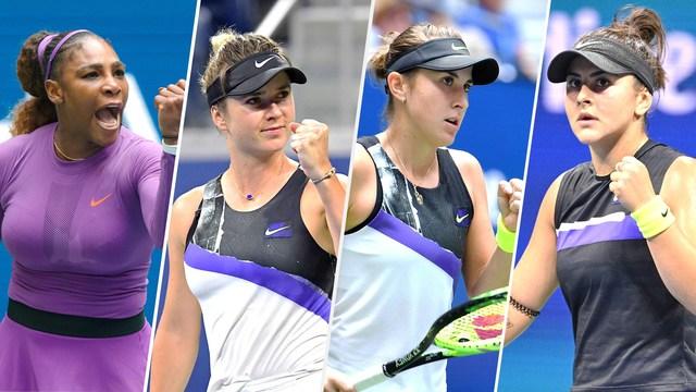 全米オープン2019女子シングルス準決勝