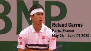 錦織圭-全仏オープンテニス画像