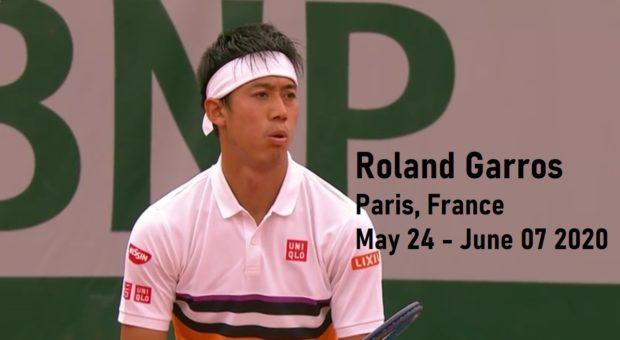 錦織圭-全仏オープンテニス