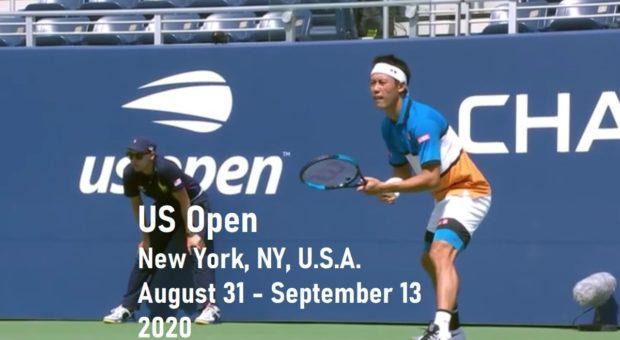 錦織圭-全米オープンテニス