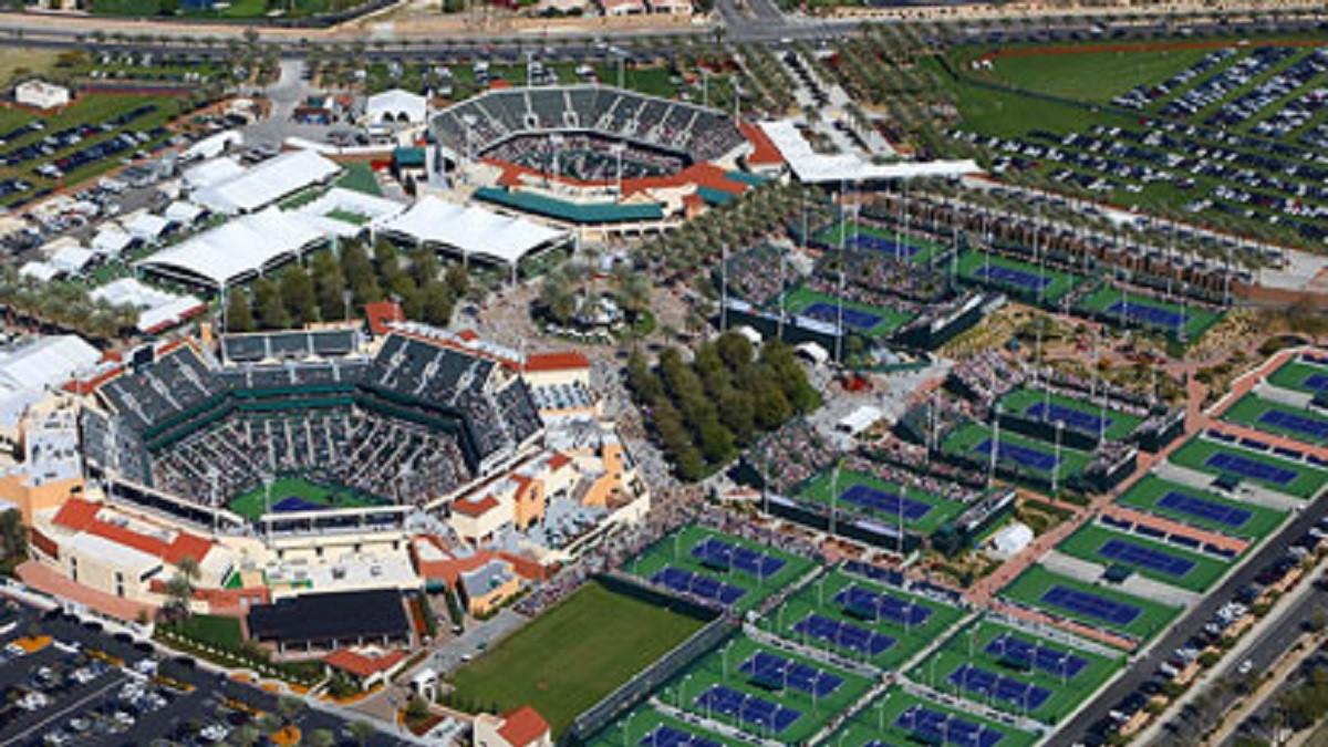 BNPパリバオープン・インディアンウェルズ・テニス・ガーデン試合会場画像