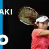 土居美咲-全豪オープンテニス