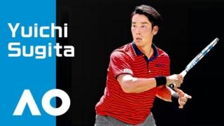 杉田祐一-全豪オープンテニス
