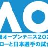全豪オープンテニス日本選手の試合結果