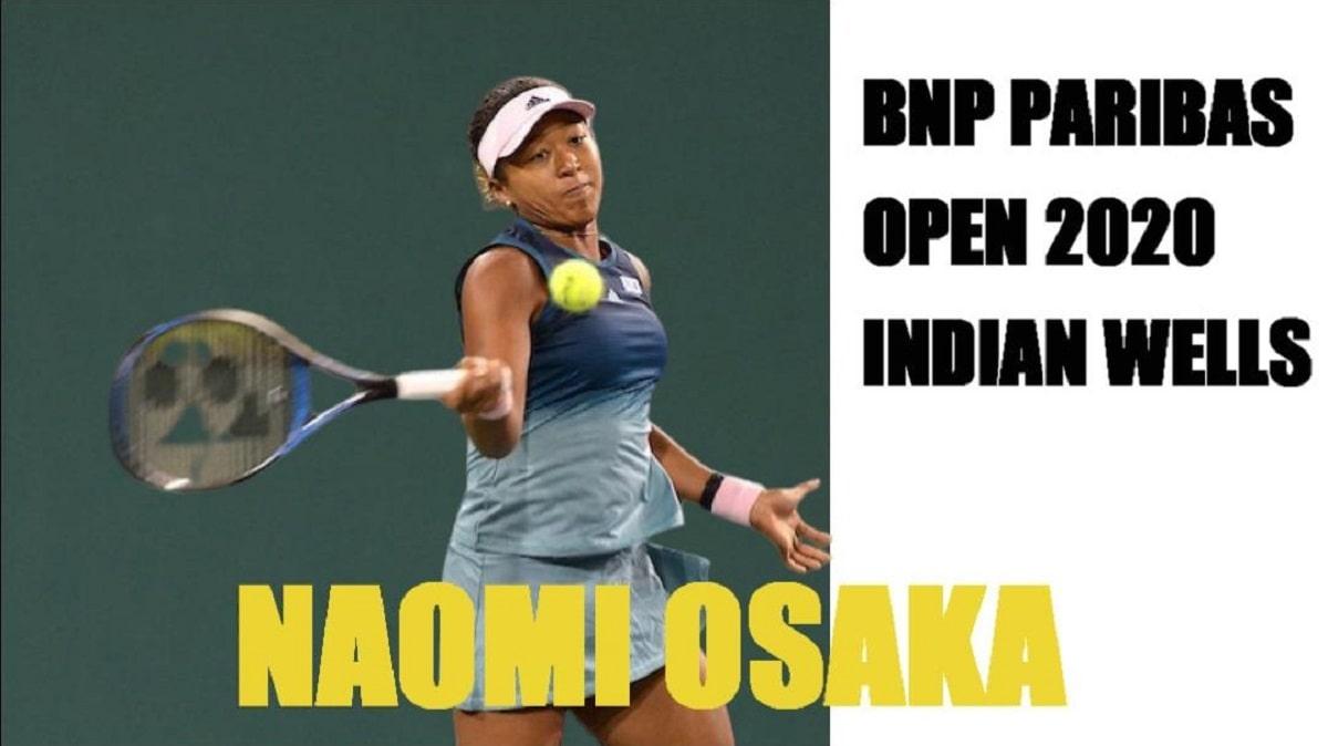 BNPパリバ オープンテニス初戦(2回戦) 大坂なおみ