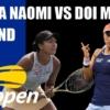 USオープンテニス2020大坂なおみvs土居美咲 女子シングルス1回戦