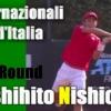 2020年のBNLイタリア国際(ローマ)2回戦に進出した西岡良仁