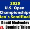 全米オープンテニス2020男子シングルス準決勝