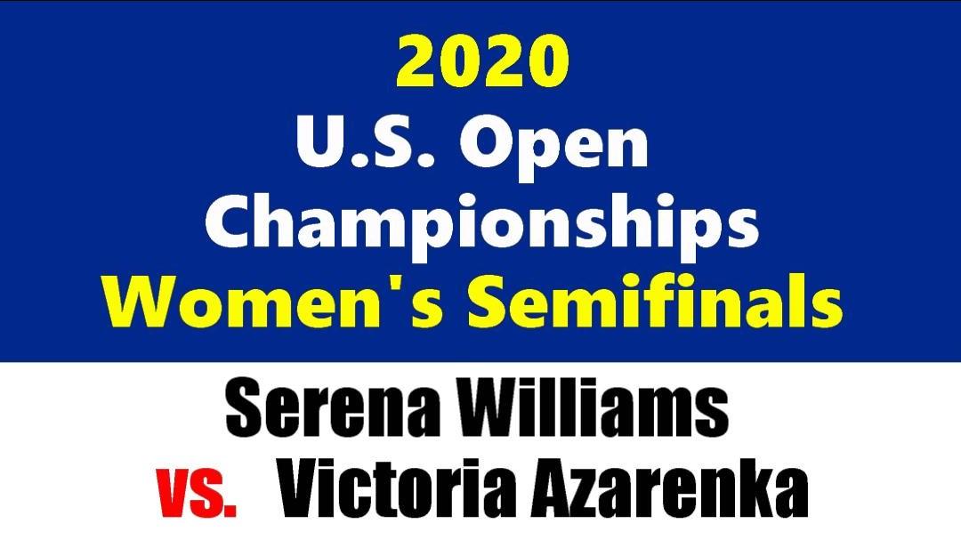 全米オープンテニス2020女子シングルス準決勝