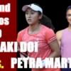 土居美咲vsペトラ・マルティッチ 全仏オープンテニス2020女子シングルス1回戦