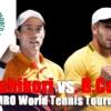 ABNアムロ世界テニス・トーナメント2021の準々決勝、錦織圭vsB. チョリッチ