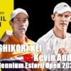 2021エストリル・オープン2回戦、錦織圭vs.ケビン・アンダーソン