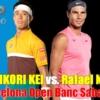 錦織圭vsラファエルナダル バルセロナオープン2021の3回戦