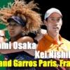 2021全仏オープンテニス、錦織圭・大坂なおみ 放送予定・ドロー