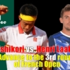 2021全仏オープンテニス(ローランギャロス)3回戦、錦織圭 vs H.ラクソネン