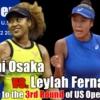 大坂なおみ vs L.フェルナンデス 女子シングルス3回戦 2021 全米オープンテニスの試合日程